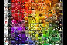 Colour, Glorious Colour / Colour theory, charts, studies, arrays, palettes, what-have-you.