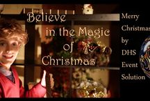 Christmas Newsletter / Believe in the magic of Christmas - Video Production - Book Mapping -