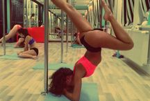 PDY - Elbowstand B&A / Pole dance move: ELBOWSTAND BOW AND ARROW aka FOREARM STAND BOW&ARROW