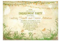 Wedding/engagement invites
