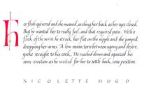Nicolette Hugo Quotes