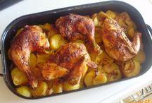 kuře, recepty