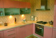 красивая кухня мебель