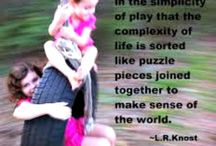 Importance of Play / Quotes on early childhood play and it's importance
