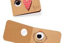 Inspired by Love & products / notes, cards, etc... cute and adorable ideas to surprise your other half