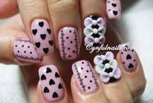 Nail Designs / by Ashley Meek