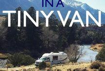 Living in a van ;-)
