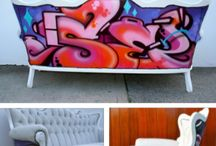 graffiti in the home