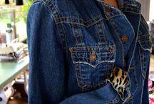 Couture - Veste en Jean relookée
