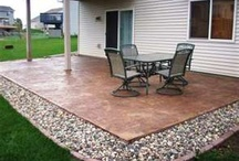 Patio Ideas / by David Garcia