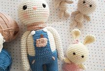 Zabawki / Knitted and crochet toys  #toys #knitted #baby