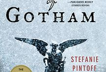The Simon Ziele Historical Mysteries / My first three books feature New York Police Detective Simon Ziele and criminologist Alistair Sinclair, in the early years of the 20th century. The first book, IN THE SHADOW OF GOTHAM, won the Edgar Award for Best First Novel.