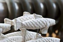 Peces cerámica