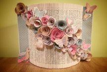 Book Folding & Flowers