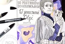 Olga Boznańska - graphics by agakubish
