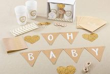 SHOP NOW! Our Gorgeous New Baby Rustic Shower Decor Sets and Favors to Delight Your Guests
