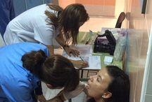 Revisión Dental al Equipo de Fútbol Femenino de Picassent / Fotografías de la revisión dental que realizo el equipo médico de la Clínica Dental IDIM Picassent el pasado Miércoles.