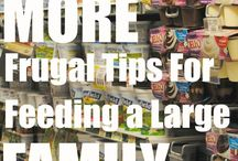 Frugal Family / Tips to live frugally as a family.  Also includes ways to save on family life, how to afford a family on a small budget, and how to have fun as a family on a budget