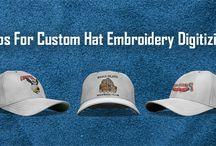 Custom Hat Embroidery Digitizing