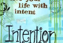 inspiration for intentionality