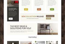 Wordpress website inspiration