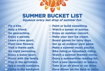 Summer Bucket List Ideas / by Kelley Stellway Spengler
