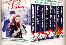 """Spirits of the Season: Eight Haunting Holiday Romances / SPIRITS OF THE SEASON features 8 haunting Christmas romances by USA Today bestselling & award-winning authors that will keep you up all night with """"spirited"""" love stories & make you believe once again in eternal love. Grab your copy on kindle at http://www.amazon.com/Spirits-Season-Haunting-Holiday-Romances-ebook/dp/B016RB7CDI/ref=sr_1_1?s=digital-text&ie=UTF8&qid=1445063860&sr=1-1&keywords=Spirits+of+the+Season"""