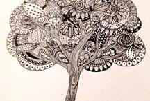 Black & White Drawings