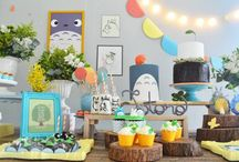 Totoro Party Ideas / Totoro Party Ideas