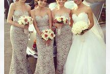Bridesmaids / by Brooklin Thebeau