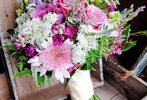 Bouquets and baskets / hortensia amaryllis bouquet