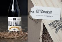 Champagne & Wine Packaging / Lovely labels & packaging
