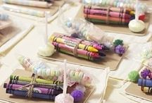 What to do with kids at a wedding / Unless you are having an adult only wedding (which can get sticky for guests with children), here are some ingenious ways of entertaining the kiddos