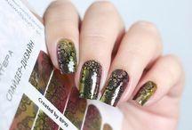 FLASH nails / nail decals, nail stickers, nail wraps, foil nails, bpwomen, BPW, flash nails, minx