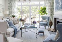 Living room decorations Hamptons Style