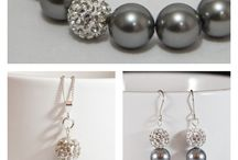 Jewellery Sets / Gorgeous jewellery handmade using Swarovski & sterling silver. Complete sets available.
