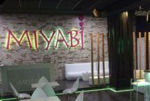 MIYABI EJIDO / Diseño de interior de una discoteca con un ambiente siempre íntimo y toques orientales.