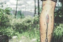 Calf Tattoo / Tatuaggi del polpaccio