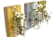 Love the vase jar idea