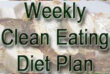 weekly eating plan