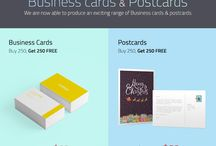 Business Cards & Postcards / Affordable customised Business Cards & Postcards