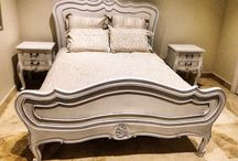 French provincial inspired bedroom