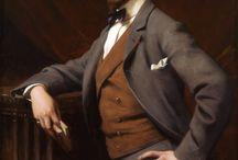 Men's portraits 1900-1910
