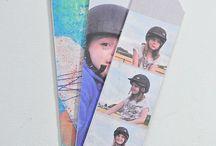 bookmarks diy photo