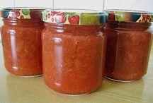 marmeláda z rebarbory a jahod