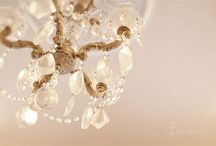 Chandeliers make any room better.... / by Kelly Goebel
