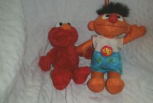Hard to find toys / TV - Retro - Movie character soft toys and figures