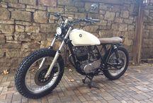 Vintage Retro motorcycles