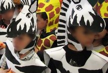 imaginative play / masks, costumes, helmets, hats