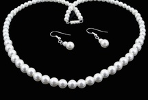 Wedding Looks / Wedding jewelry from Rose of Sharon Jewelry plus other wedding fashions that even an old married woman can appreciate!
